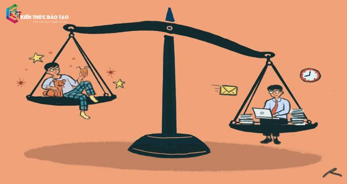 cân bằng cuộc sống và công việc hiệu quả